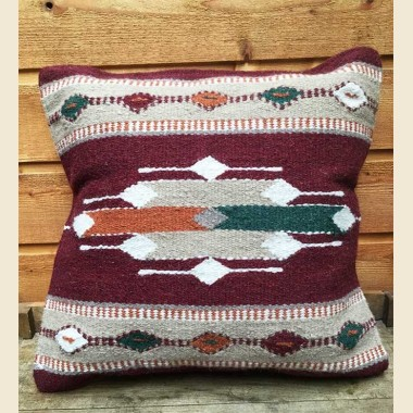 Southwest Wool Pillow Cover -Arrow theme