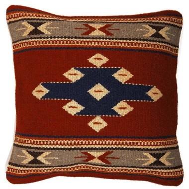 Coussin navajo en laine Spirit