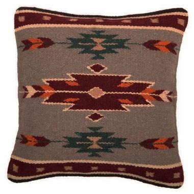Coussin navajo en laine Desert