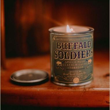 Bougie  parfumée Buffalo Soldier